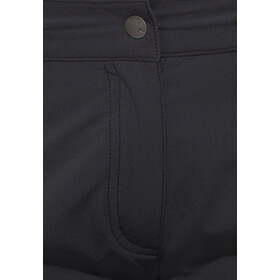 VAUDE Farley II Stretch T-Zip Caprit Naiset, black